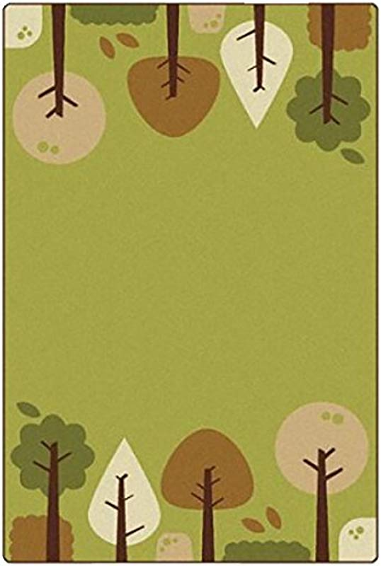 Carpets For Kids 33756 Kidsoft Tranquil Trees Cocoa