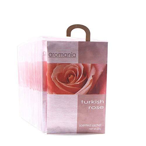 YUMSUM Rose duftende Duftsäckchen Beutel Taschen Kleidung duftenden für Schubladen Schränke Zimmer Kleiderschrank Badezimmer Autos, 25gX 8 Pack (Rose)