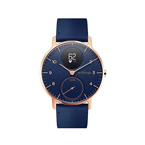 Withings Steel HR Reloj Inteligente, Unisex Adult, Azul, 36mm