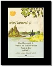 Music Ad World Albert Hammond JR - Yours to Keep Mini Poster - 28.5x21cm