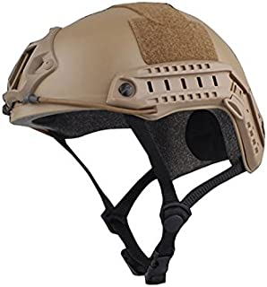 multifunción Deporte Casco Protector Casco táctico para Airsoft y Paintball, Tipo MH rápido Casco