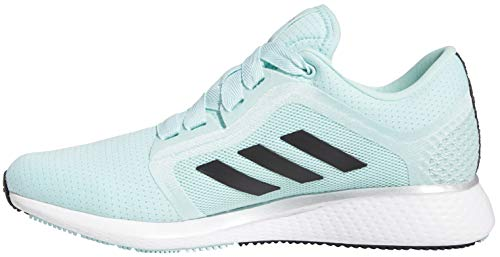adidas womens Edge Lux 4 Running Shoe, Frost Mint/Black/White, 7.5 US