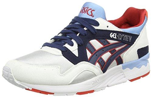 Asics Gel-lyte V Gs, Unisex-Erwachsene Sneakers, Grau (soft Grey/navy 1050), 39 EU