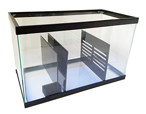 Bubblefin Aquarium Sump Refugium DIY Kit for Portein Skimmer Sump - Chamber dividers (10 Gallon)