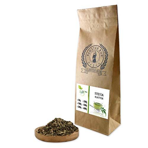 VITAIDEAL VEGAN® Stevia Blätter geschnitten (Stevia Rebaudiana, Süßkraut, Honigkraut) 100g, rein natürlich ohne Zusatzstoffe.
