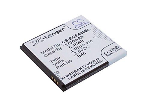 techgicoo 1700mAh/6.46wh recargable compatible con BQ Aquaris E4, 1700