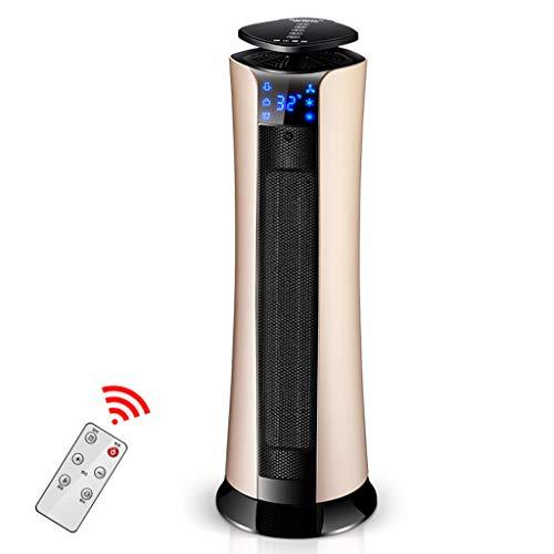 GYH Chauffe-eau télécommandé PTC Chauffe-eau en céramique, chauffant à tour oscillante Usage intérieur / 2000W (#)