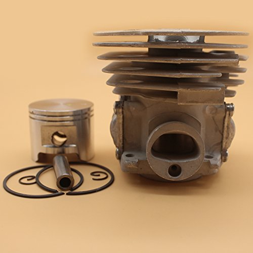 45MM Cilinder Hoofd Zuiger Ringen Kit Voor HUSQVARNA 350 346XP 353 351 JONSERED 2150 2141 2145 Kettingzaag Motor Onderdelen