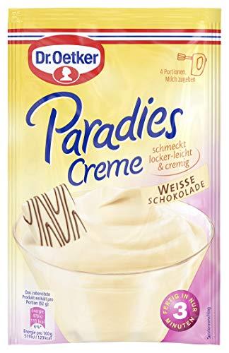 Dr. Oetker Paradies Creme Weisse Schokolade, 11er Pack (11 x 70 g)