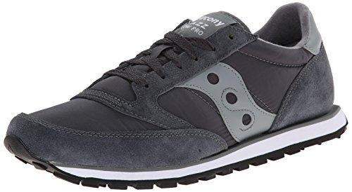 Saucony Originals Men's Jazz Low Pro Sneaker,Charcoal/Grey,9.5 M US