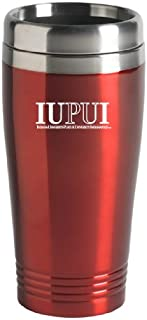LXG, Inc. Indiana University – Purdue University Indianapolis - 16-Ounce Travel Mug Tumbler - Red