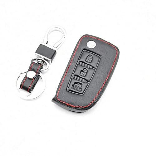 SZXia - Funda para llave de coche con 3 botones, plegable, para...