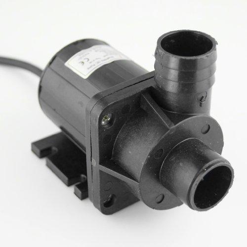Smarstar, pompa dell'olio, piccola pompa dell'acqua DC50A-1235a, pompa sommersa brushless, velocità regolabile, DC 12 V, 660 GPH 11,5 ft