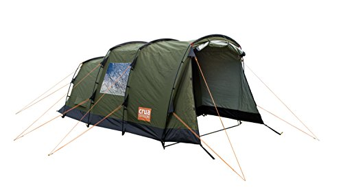 Crua Tri | 3 Person Premium All Weather Insulated Breathable Family Camping Tent | Weatherproof, Warmth & Cooling Insulation | For Winter/Snow/Rain & Summer/Heat, Glamping, Hunting, Camping, Hiking