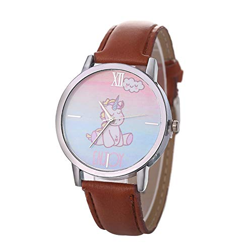Meigold Karikatur Einhorn Uhren für Kinder Uhrenarmband Mode Lässig Uhren