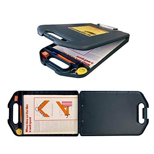 ダルトン Storage clipboard Y825-1083 Navy 収納ケース付き クリップボード