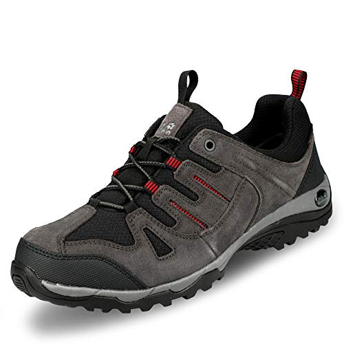 Jack Wolfskin Herren Mountain Creek Texapore Low M Walking-Schuh, Grau, 42 EU