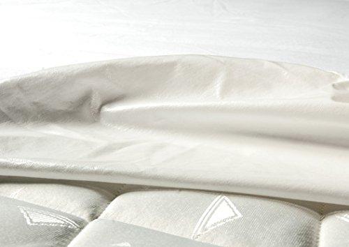 Castejo Jersey Matratzenschutzbezug mit rundum Gummi für TOPPER verschiedene Größen Höhe 5-7cm, Nässeschutz, Matratzenschoner, Hygieneschutzbezug mit PU Beschichtung, Inkontinenz, CA74 (180x220x5-7cm)