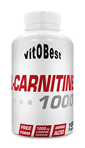 L-CARNITINE 1000-100 TripleCaps. - Suplementos Alimentación y Suplementos Deportivos - Vitobest