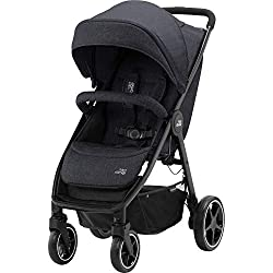 Compatible with all Britax Römer infant carriers with optional adapters as well as the Britax Römer carrycot Lie-flat backrest – suitable for a soft carrycot Large protective hood with viewing window and upf 50+ sun protection Easy one-handed pull fo...