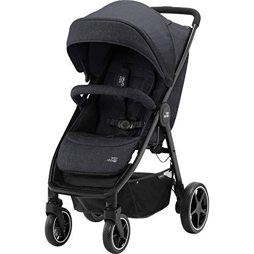 Britax Römer B-Agile M Stroller Pushchair, Birth to 4 Years (22kg), Black Shadow