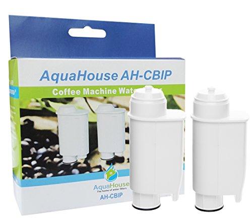2x AquaHouse AH-CBIP Cartouches filtrantes compatibles avec Gaggia, Lavazza, Philips Saeco et Gaggia