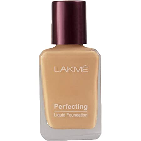 Lakmé Perfecting Liquid Foundation, Pearl, Long Lasting, Waterproof, Full Coverage, Lightweight Foundation For Oil Free And Dewy Skin, 27 ml