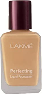 Lakmé Perfecting Liquid Foundation, Pearl, Long Lasting, Waterproof, Full Coverage, Lightweight Foundation For Oil Free An...