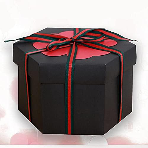 FWJSDPZ Caja De Cumpleaños Caja Creativa Album De Fotos Cumpleaños Hecho A Mano Cumpleaños Boda De San Valentín