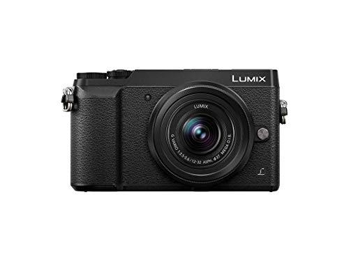 Panasonic LUMIX G DMC-GX80KEGK Systemkamera (16 Megapixel, Dual I.S. Bildstabilisator,Touchscreen, Sucher, 4K Foto und Video) schwarz mit Objektiv H-FS12032E