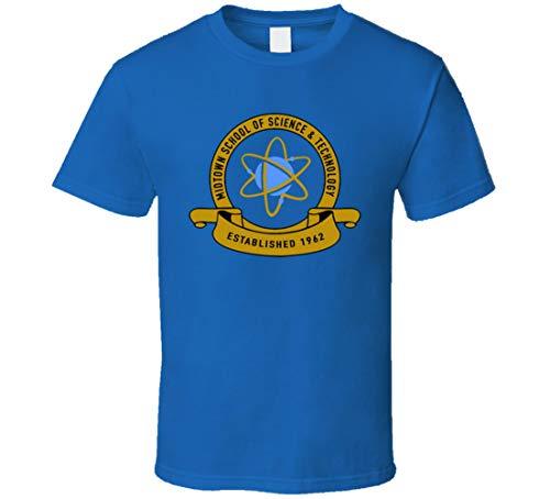 LIYUAN Midtown School of Science & Technology Classic Spider Man - Camiseta de regreso a casa, color azul