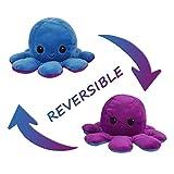 DENGZI Peluche de Pulpo Reversible-Bonitos Juguetes de Peluche muñeco de peluche juguetes creativos el Pulpo Reversible Original de Felpa Regalos de Juguete para niños Navidad Cumpleaños