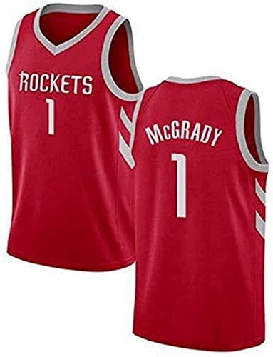 McGrady - Camiseta de baloncesto para hombre, diseño de uniforme de baloncesto para adultos, sin mangas, para entrenamiento