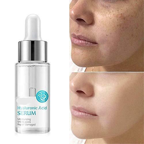 ZJXAM 100% hyaluronic Acid Skin Serum Anti Wrinkle Face Cream Moisturiser 15ml, Strong Pure Hyaluronic Acid Serum for Face and Eyes - Anti Aging - Anti Wrinkle