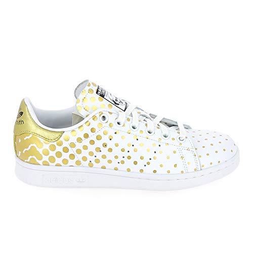 adidas Stan Smith Blanco lunares Oro, Dorado (dorado), 40.5 EU