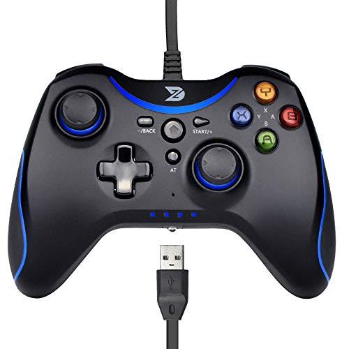 ZD T Gaming - Mando con cable para PC (Windows XP/7/8/8.1/10) /...
