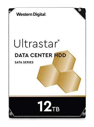 Western Digital WD 1TB Ultrastar DC HA200 SATA HDD, 3, 5 inch interne harde schijf voor Server 128 MB Cache, Enterprise klasse 12 TB
