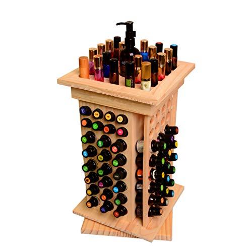 CHSEEO Caja de Almacenaje de Aceites Esenciales, 104 Botellas Aceite Contenedor Organizador Cosméticos Expositores Estantes para Esmaltes de Uñas, Perfumes, Labiales, Aceite Esencial #1