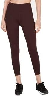 Calvin Klein High-Waist Cropped Leggings Raisin Combo XXL