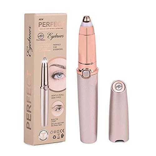 PEACHBERRY Portable Electric Eyebrow/Face/Lip/Nose/Chin Hair Remover/Epilator for Women