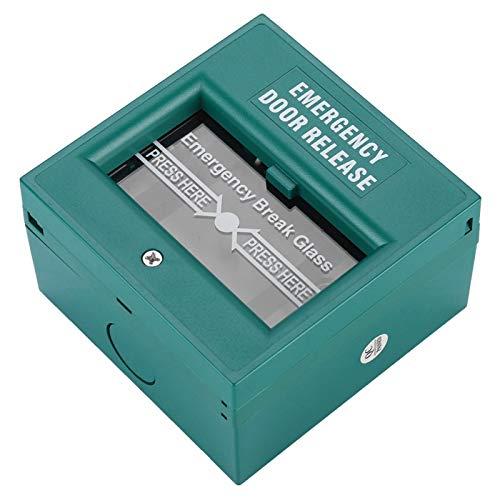 Botón de emergencia, botón de alarma de rotura, protector de carcasa de plástico para el hogar