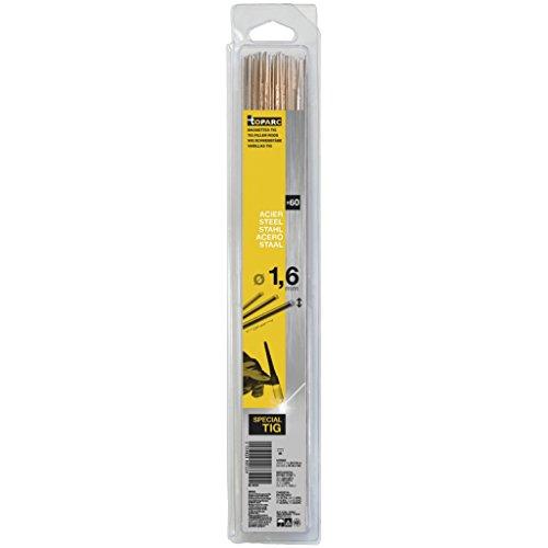 Preisvergleich Produktbild GYS WIG Schweißstäbe,  Stahl,  Länge 330 mm,  Durchmesser 1, 6 mm