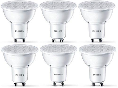 Preisvergleich Produktbild Philips LED Lampe ersetzt 50W,  EEK A+,  GU10,  warmweiß (2700 Kelvin),  350 Lumen,  Sechserpack,  8718696536155