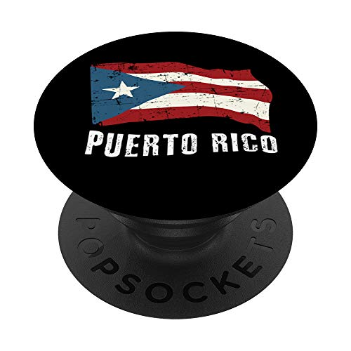 Puerto Rico Pride - Boricua Flag - Puerto Rican Ego PopSockets PopGrip: Swappable Grip for Phones & Tablets