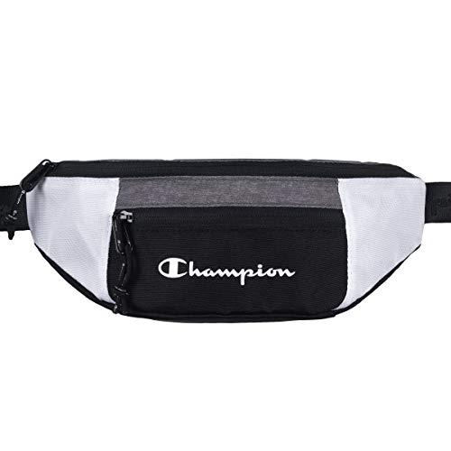 Champion Unisex Belt Bag Belt Bag 804883, Color:Grau (ngam)/nbk (Schwarz)/Wht (weiß)