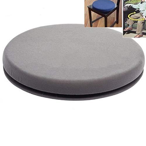 360 Degree Rotation Sponge Crush Resistant Anti Wear Anti-Skid Cushion,Office Chair Practical Wheelchair Home Swivel Car Seat