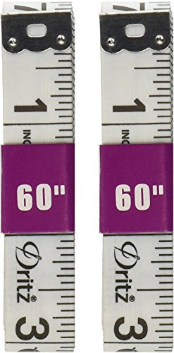 1 Pack Dritz Tape Measure for Sewing, 5/8 by 60-Inch (2 Pack)…