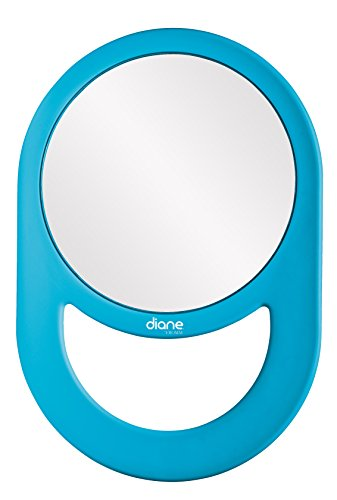 Diane Handheld Mirror, Assorted Colors #DEM008 11 x 7.5 Inches
