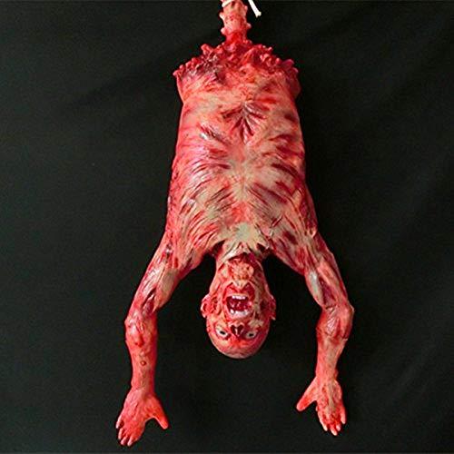 Víspera De Todos Los Santos Horror Apoyos Cámara Escape Haunted House Decoración Horror Hanging Ghost Peeling Piel Colgante Cuerpo Mummy Devil