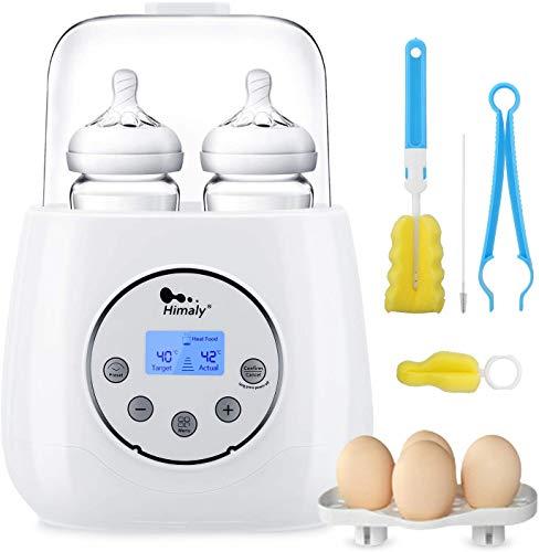 classement un comparer Himary Glass Baby Bottle Warmer High Speed Electric Stérilisateur Portable Travel, parfait pour les nuits de bébé…